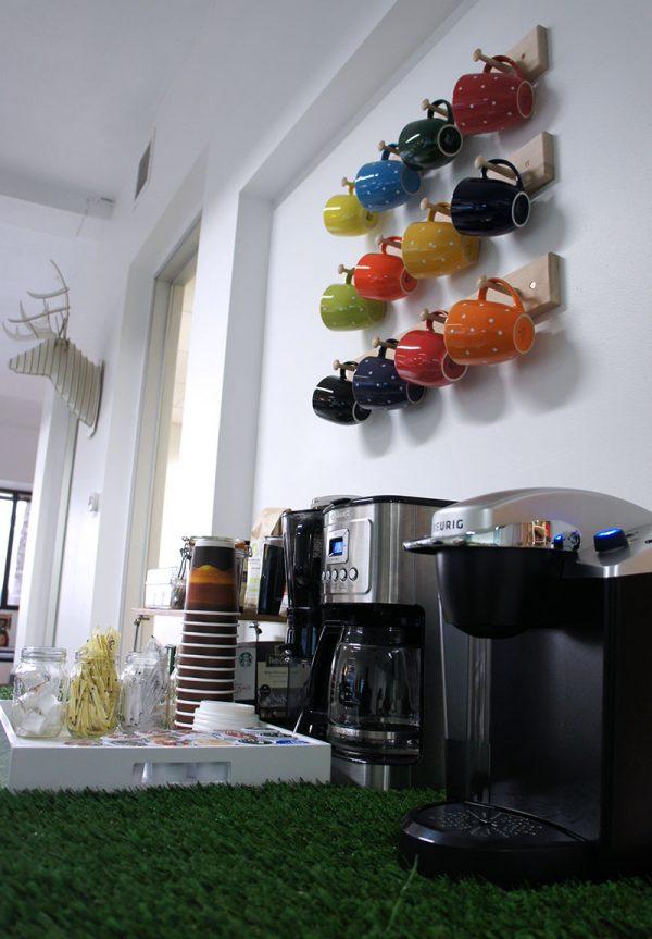Coffee & Tea Area