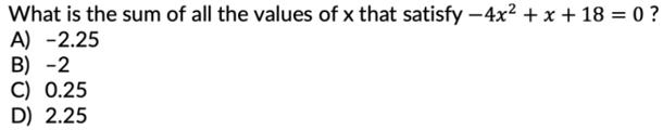 a high scorers burden sample problem